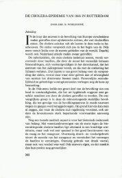 DE CHOLERA-EPIDEMIE VAN 1866 IN ROTTERDAM