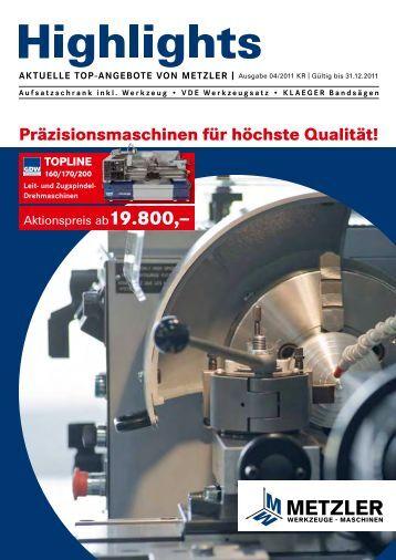 Präzisionsmaschinen für höchste Qualität!