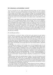 De rechtsstaat: een bescheiden voorstel
