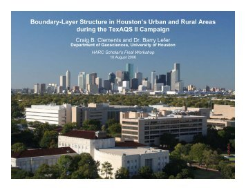 Boundary-Layer Structure in Houston's Urban and Rural Areas ...