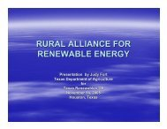 rural alliance for renewable energy - Houston Advanced Research ...