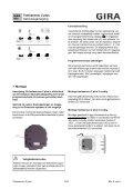 Toetssensor 2 plus Gebruiksaanwijzing - Download - Gira - Page 5