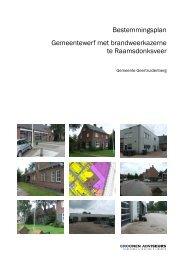 Bestemmingsplan Gemeentewerf met brandweerkazerne te ...