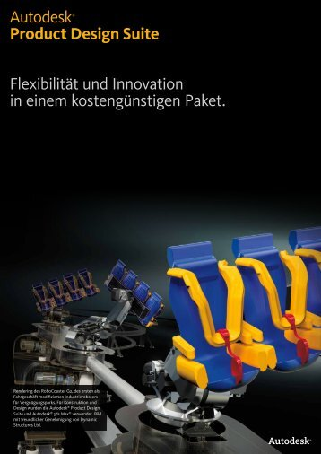 Autodesk® Product Design Suite Flexibilität und Innovation in einem ...