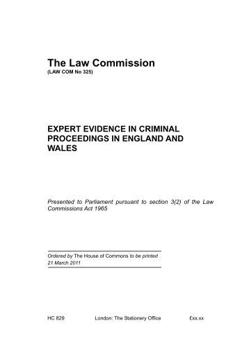 hearsay in civil and criminal cases Commission's review of the uniform evidence acts  common law – criminal cases  civil cases.