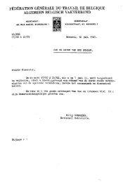 fédération générale du travail de belgique algemeen belgisch ...