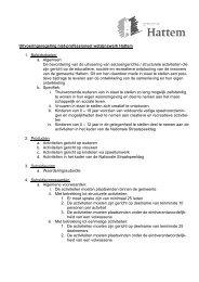 Uitvoeringsregeling niet-professioneel welzijnswerk Hattem 1 ...