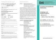 Vertiefungs- und Qualifizierungskurs ... - Deutsches Anwaltsinstitut eV