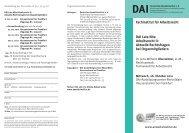 DAI Late Nite Arbeitsrecht II: Aktuelle ... - Deutsches Anwaltsinstitut ev
