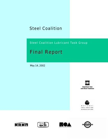 Final Report - Steel Deck Institute