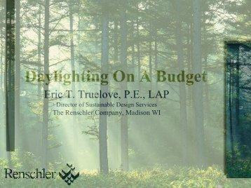 Daylighting On A Budget - Metal Construction Association