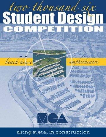 2006 Student Design Competition Brochure - Metal Construction ...