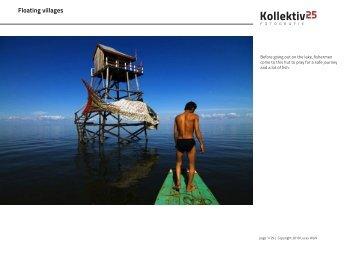 Floating villages - Kollektiv25