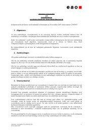 Algemene Verkoopvoorwaarden - Eao.com