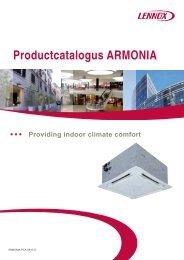 Productcatalogus ARMONIA - Lennox