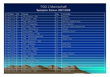 Statistiken - TGD Essen-West