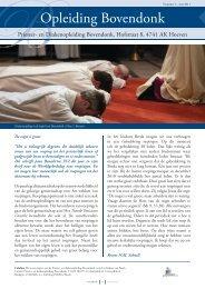 Opleiding Bovendonk 2011-2 - Bisdom Breda