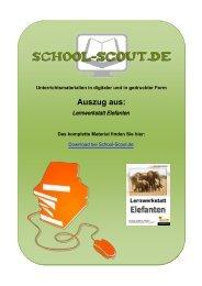 Lernwerkstatt Elefanten - Lehrer bei School-Scout
