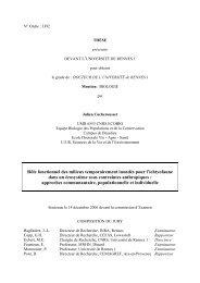 lien - Ecobio - Université de Rennes 1