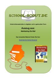 Merktraining Die Welt - Lehrer bei School-Scout