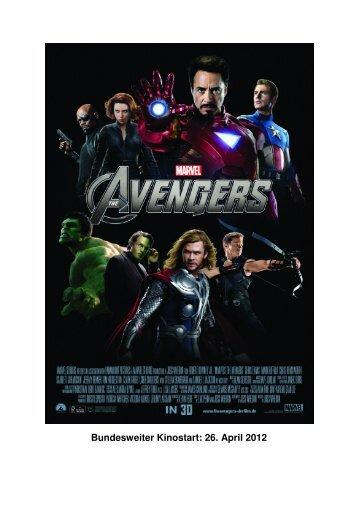 Bundesweiter Kinostart: 26. April 2012 - Walt Disney Studios Motion ...