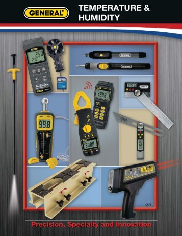 Temperature & Humidity - General Tools And Instruments