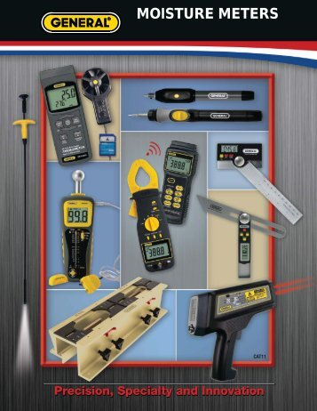 Moisture - General Tools And Instruments
