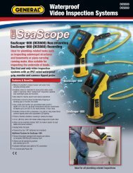 Waterproof Video Inspection Systems - General Tools And Instruments