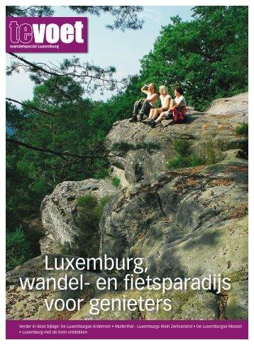 Luxemburg, wandel en fietsparadijs voor genieters - DIGI-magazine