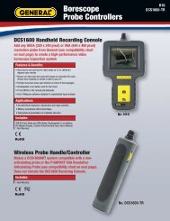 Borescope Probe Controllers - General Tools And Instruments