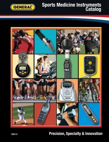 Sports Medicine Instruments Catalog - General Tools And Instruments
