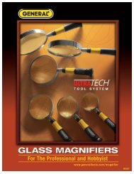 UltraTech Magnifiers - General Tools And Instruments