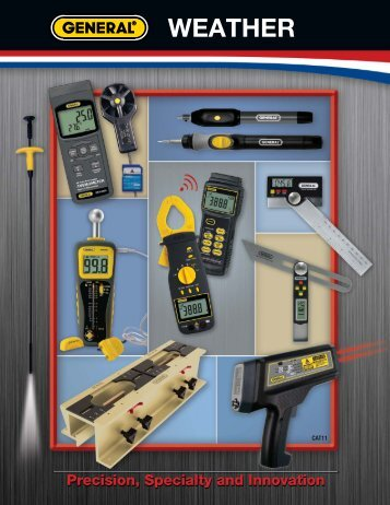 Weather - General Tools And Instruments