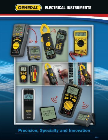 ELECTRICAL INSTRUMENTS - General Tools And Instruments