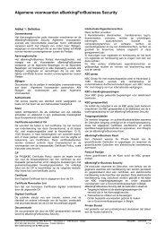 Algemene voorwaarden eBankingForBusiness Security