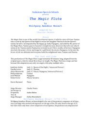 The Magic Flute - Present
