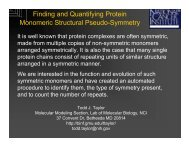Finding and Quantifying Protein Monomeric Structural Pseudo ...