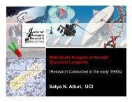 Satya N. Atluri, UCI - Math, Statistics, and Computational Science