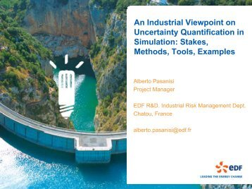 An Industrial Viewpoint on Uncertainty Quantification in Simulation