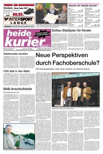 Mittwoch hk18 (Page 1) - Heide-Kurier