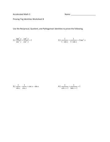 trig equations worksheet 5 1 name solve for 0 x. Black Bedroom Furniture Sets. Home Design Ideas