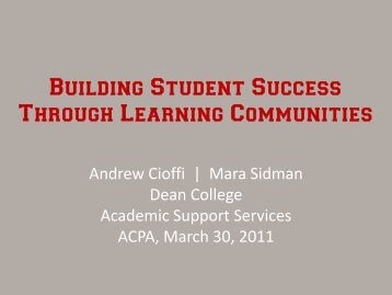 ACPA Building Student Success through Learning Communities.pdf