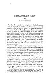 OUDJAVAANSCHE KUNST. - Books and Journals
