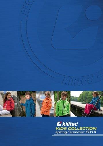 Katalog Killtec na sezon wiosna /lato 2014 - odzież dziecięca