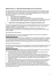 Notitie keuzen t.a.v. regeling bestemmingsplan Kop van Schouwen