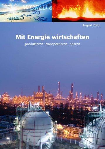 Mit Energie wirtschaften