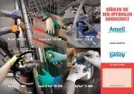 HyFlex® 11-618 PowerFlex® 80-100 Touch N Tuff® 92-600 HyFlex
