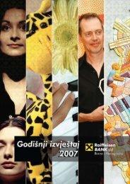 Napomene uz finansijske izvještaje - Raiffeisen Bank