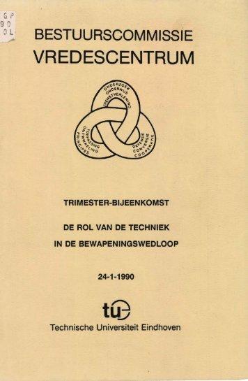 VREDESCENTRUM - Technische Universiteit Eindhoven