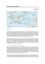 THE REPUBLIC OF INDONESIA V.V. Krishna - Unesco